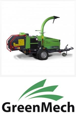 Corsamat - Location de matériel - Broyeur de végétaux GreenMech - Bastia - Ajaccio - Corse